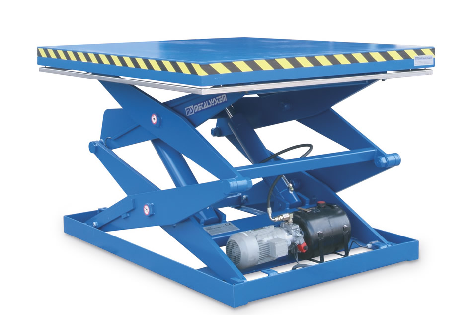 Ms Metalsystem Sl Double Triple Scissor Lift Table