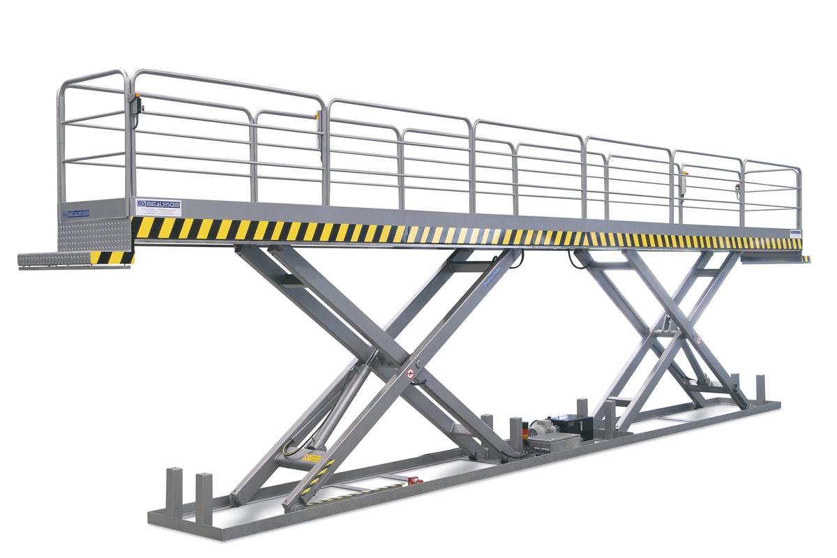 MS METALSYSTEM SL – Tandem scissor lift table
