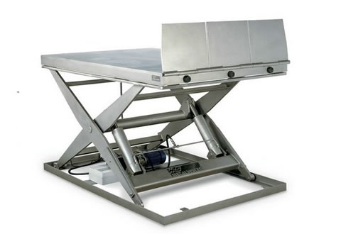 With lift table